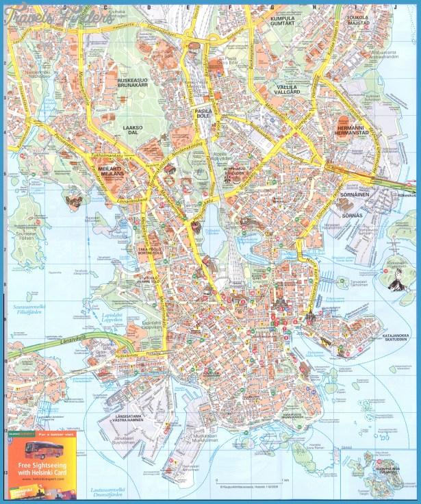 Helsinki 2 Map - helsinki  mappery