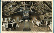 Old Faithful Inn from Dining Room - Yellowstone National Park