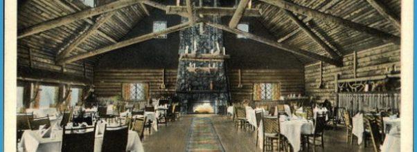 Old Faithful Inn from Dining Room - Yellowstone National Park ...