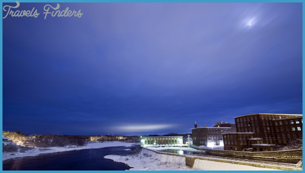 Kennebec River; Waterville-Winslow, Maine   Flickr - Photo Sharing!
