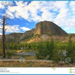 The Scenery Of Yellowstone National Park Stock Images - Image: 6359634