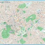 High-resolution large map of Athens - download for print out