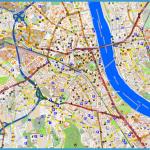 Touristic map Bonn