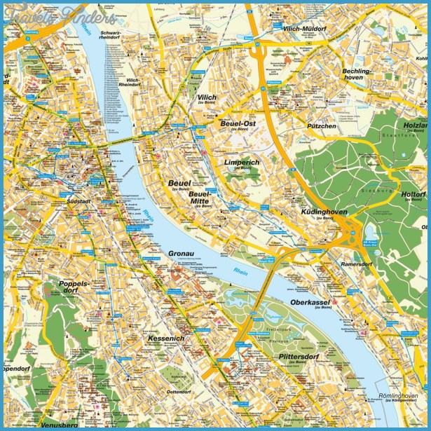 ESturismo.eu ALEMANIA - BONN (Mapas)