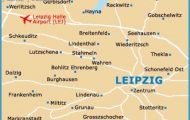 ... part of leipzig is the gewandhaus concert hall germany map leipzig map