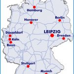 Leipzig Map, Germany