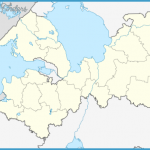 Outline Map of Leningrad Oblast.svg