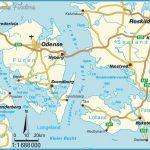 Map of Odense Roskilde, Syddanmark, Denmark, Scandinavia
