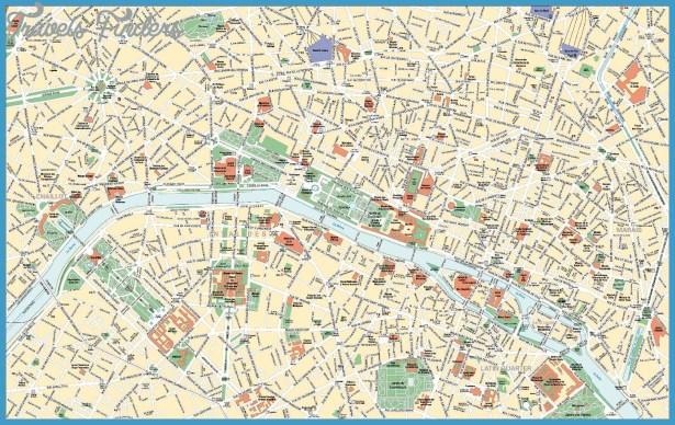 Stadtplan Paris | Detaillierte gedruckte Karten von Paris, Frankreich