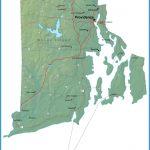 Detailed Rhode Island Map - RI Terrain Map