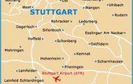Map of Stuttgart Airport (STR): Orientation and Maps for STR Stuttgart ...