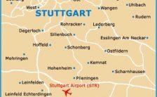 Map of Stuttgart Airport (STR): Orientation and Maps for STR Stuttgart