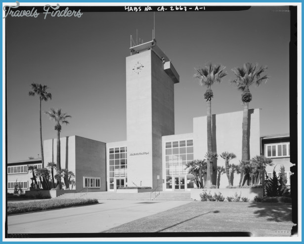 BUILDING 1 WITH TOWER AND MAIN ENTRANCE, FACING NORTHEAST - Roosevelt ...