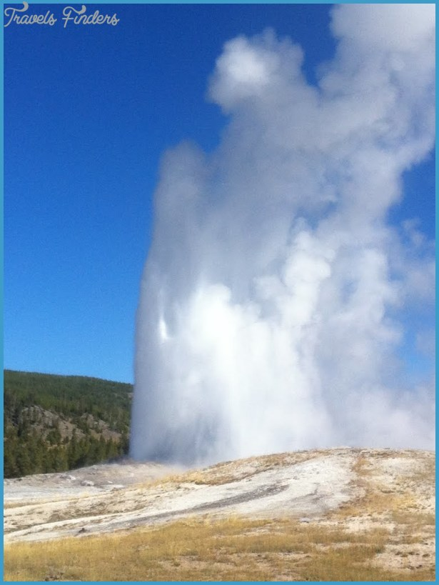 Panoramio - Photo of Old Faithful Geyser