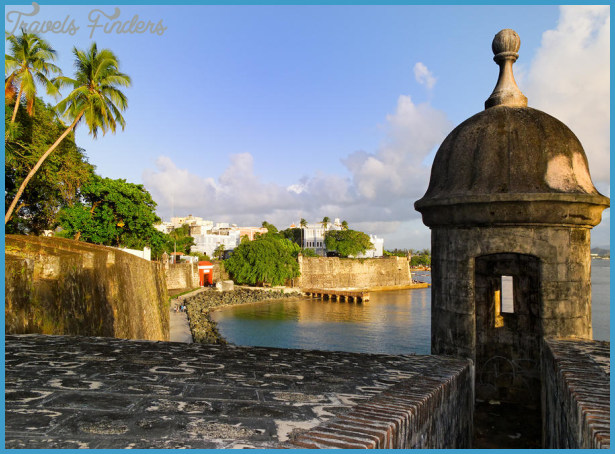 Old San Juan City Walls by George Oze