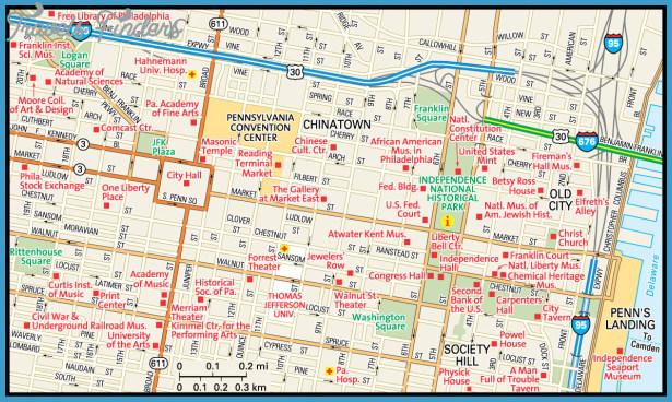 Philadelphia Map - Guide to Philadelphia, Pennsylvania