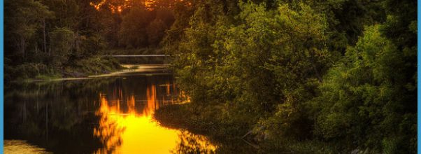 Piscataquis River, Maine - Sunset - a photo on Flickriver