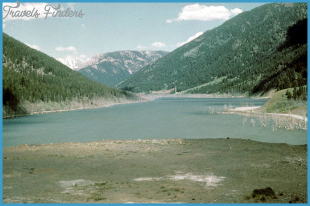 Quake Lake, Yellowstone National Park - Online Media Library