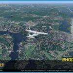 Rhode Island is 1,545 square miles in size and has 11 airports . You