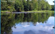 The Sebasticook River in Pittsfield, Maine is a popular fishing ...