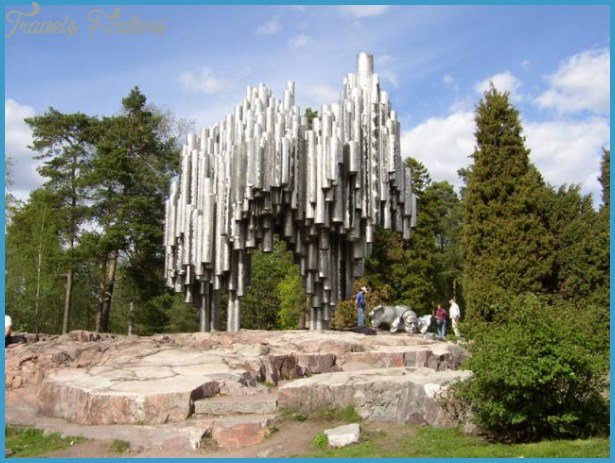 of the beloved tourist attractions in Helsinki: the Sibelius Monument