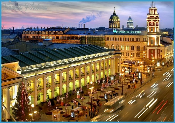 Gostiny Dvor Department Store in St. Petersburg, Russia