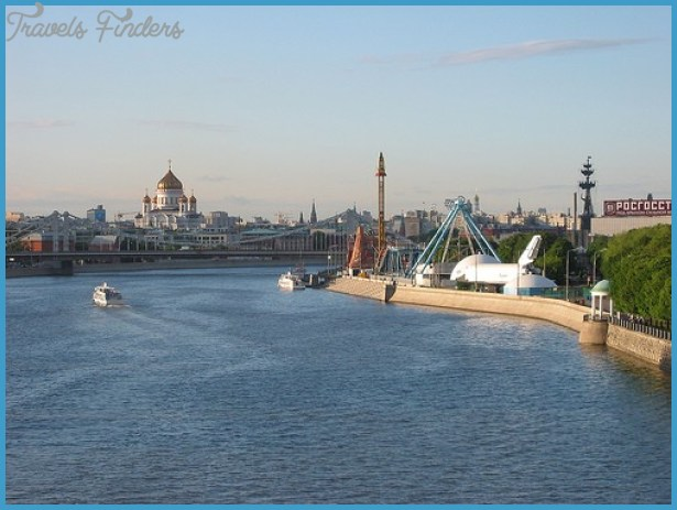 Moscow attractions Gorky Park panorama. By captain chaos at Flickr.com