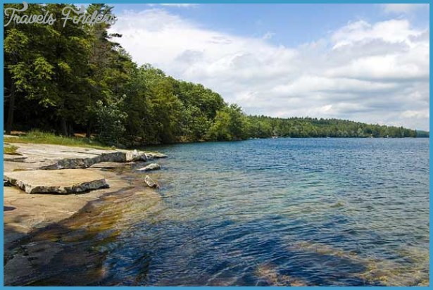 Maine State Parks in the Kennebec & Moose River Valleys Region