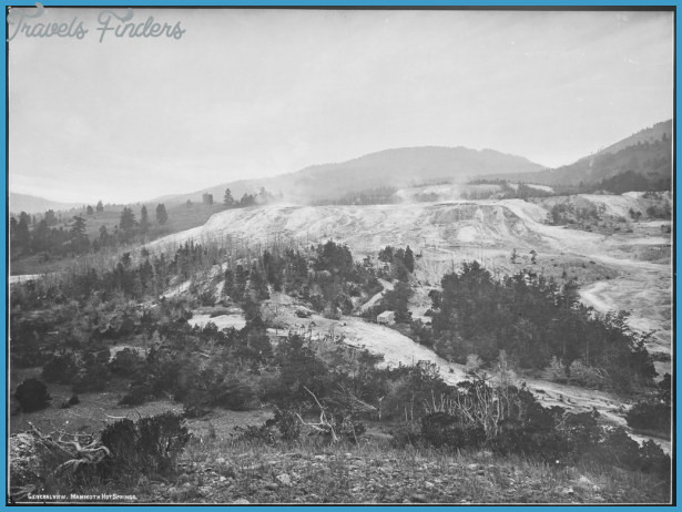 ... Springs, general view from Fort Hill. Yellowstone. - NARA - 517638.tif