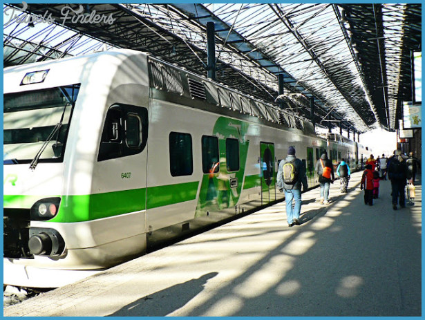 Five in Finland: Train Travel to Turku