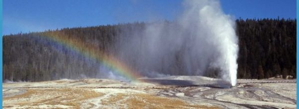 Beehive Geyser - Upper Geyser Basin Photo
