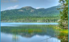 Upper Hadlock Pond 02 Reflection   Flickr - Photo Sharing!