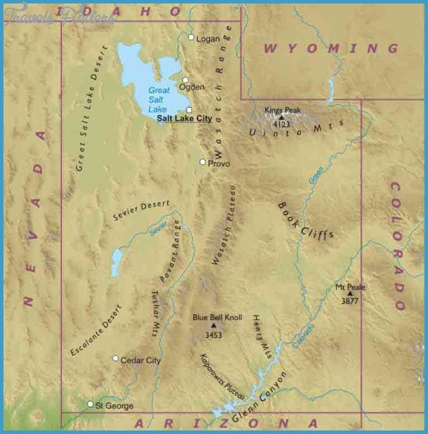 Travel Maps of Utah, Maps of Utah USA, Maps Utah Travel Guide USA