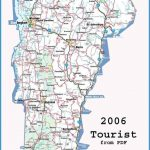 2006 touristsimple tourist map not detailed vermont attractions