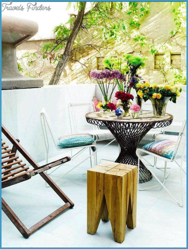 50 Gardens And Terraces That Make The House A Summer Beauty | http