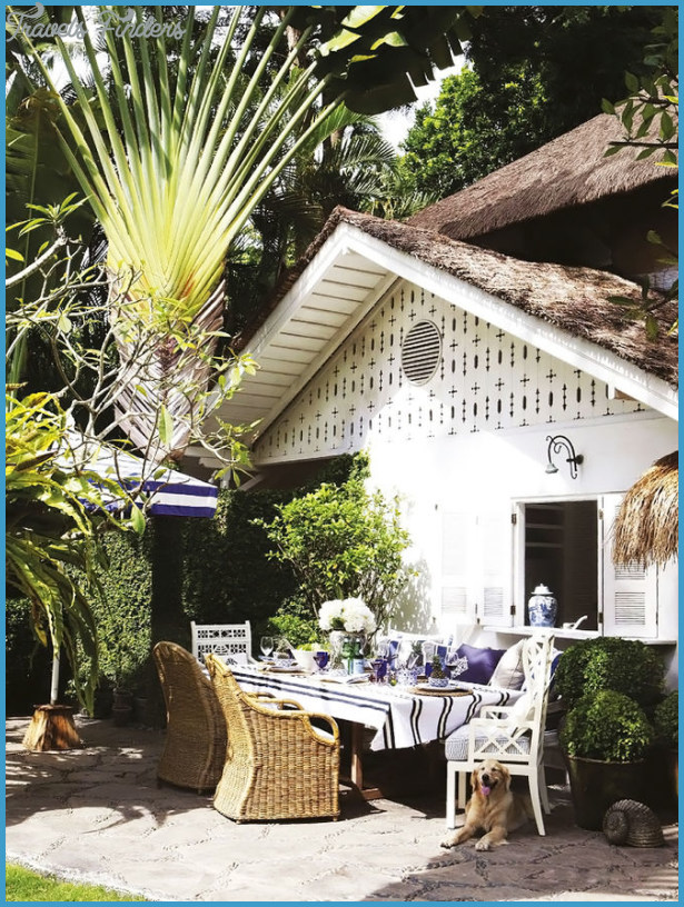 50 Gardens And Terraces That Make The House A Summer Beauty - 45