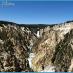 The Grand Canyon of Yellowstone – one of the many amazing landscapes
