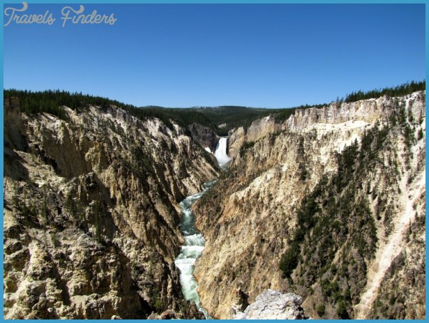 The Grand Canyon of Yellowstone  one of the many amazing landscapes ...