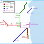 Subway style map of some major US Interstates Subway style map of
