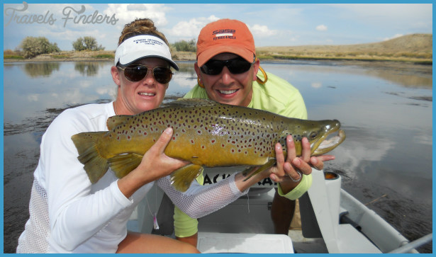 Wyoming Anglers is a notable fly fishing lodge and guide service based ...