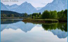 Parc national de Yellowstone, nature, lac, montagnes, arbres Wallpaper
