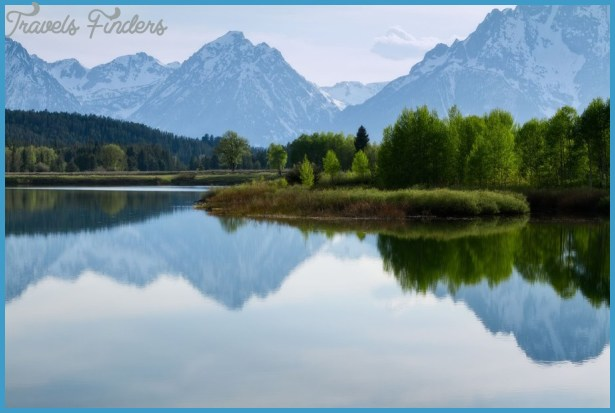 Parc national de Yellowstone, nature, lac, montagnes, arbres Wallpaper ...