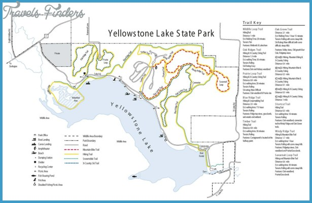 Yellowstone Lake State Park - Maplets