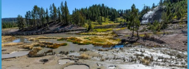 Yellowstone Mud Volcano area scenic 09-20-2013 | Flickr - Photo ...