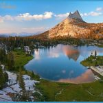 Above the Timberline, Cathedral Peak, Yosemite National Park - Fine