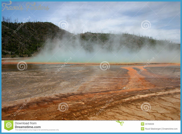 Yellowstone Volcanism In Full Glory Royalty Free Stock Photos - Image ...