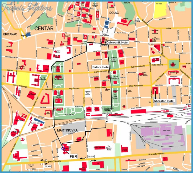 map of Zagreb by clicking on the map or via this link: Open the map