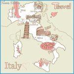 Landkarte Von Italien Kreative Karte Von Italien