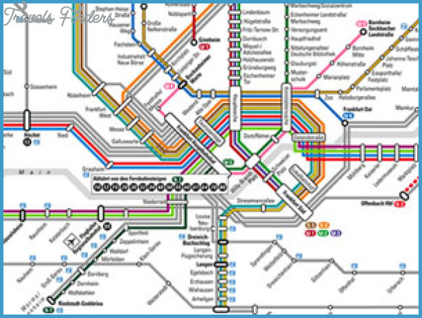 Frankfurt Subway Map