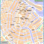 best guide - Amsterdam top tourist attractions map - High resolution